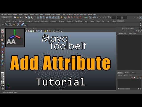 The Maya Toolbelt - Add Attribute