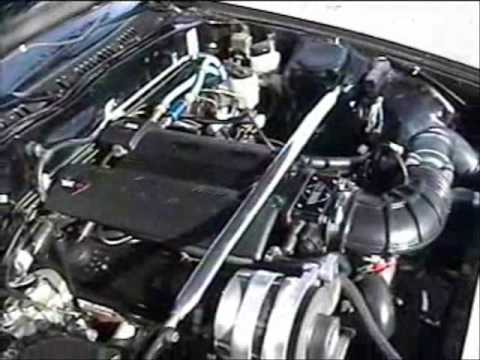 Mazda RX7 V8 Conversion LT1 5.7 Liter T56 6 Speed - YouTube
