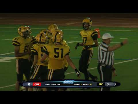 Cupertino Pioneers vs Mountain View Spartans - Football, October 6, 2017