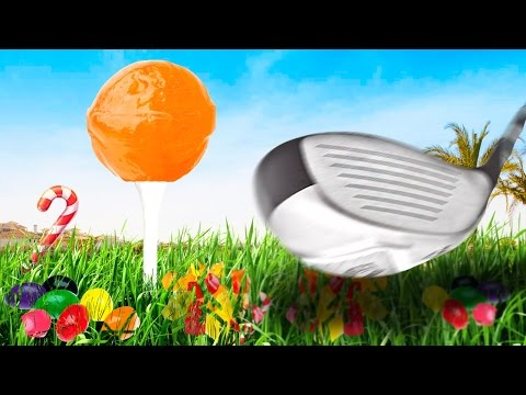 GOLF WITH CANDY.... And Friends! |