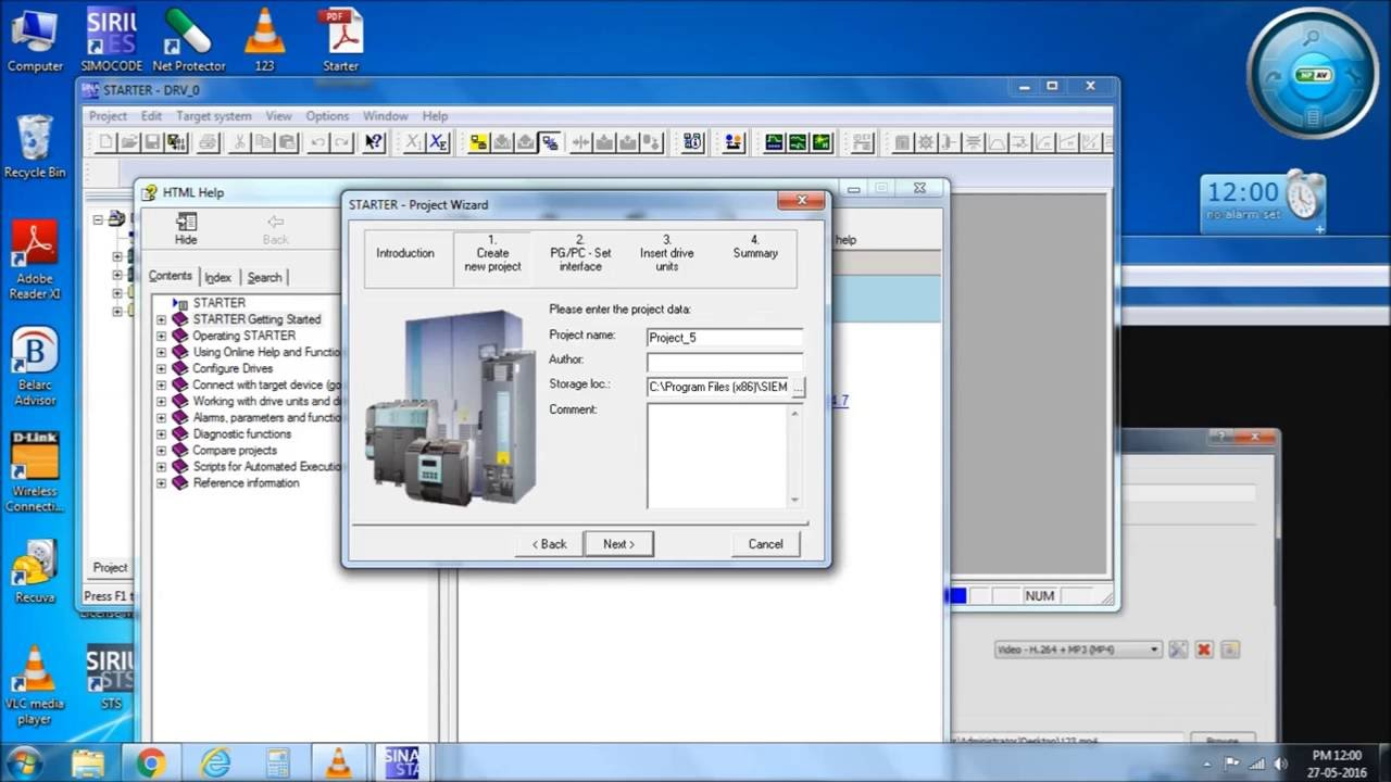 part 1 profibus communication of siemens dcm drive using starter 4 4 youtube [ 1280 x 720 Pixel ]