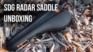 SDG RADAR MTN Saddle Unboxing