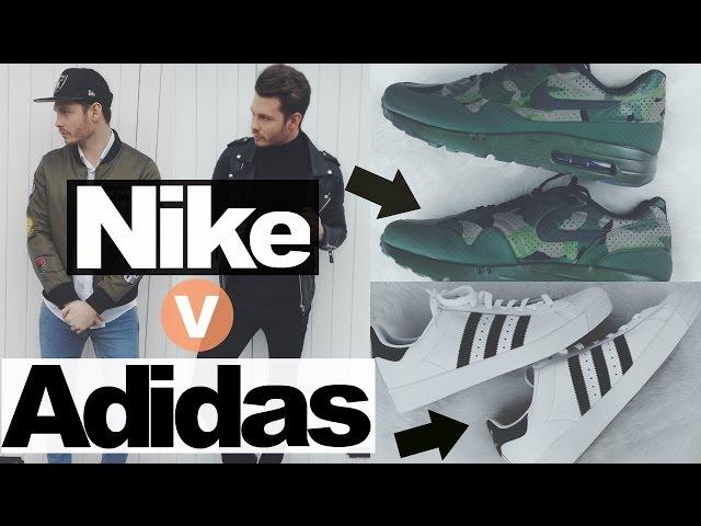 adidas superstar vs nike air max