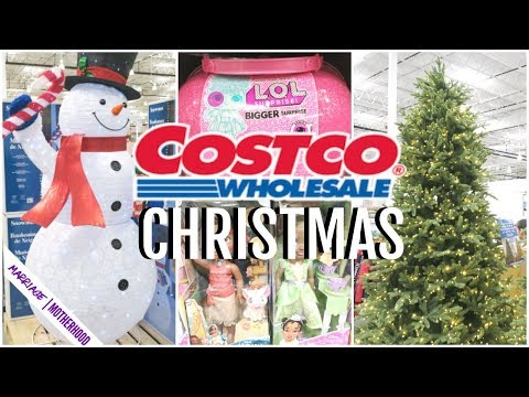 ☃️CHRISTMAS AT COSTCO 2019❄️ Costco Haul // Grocery Haul SHOP WITH ME!
