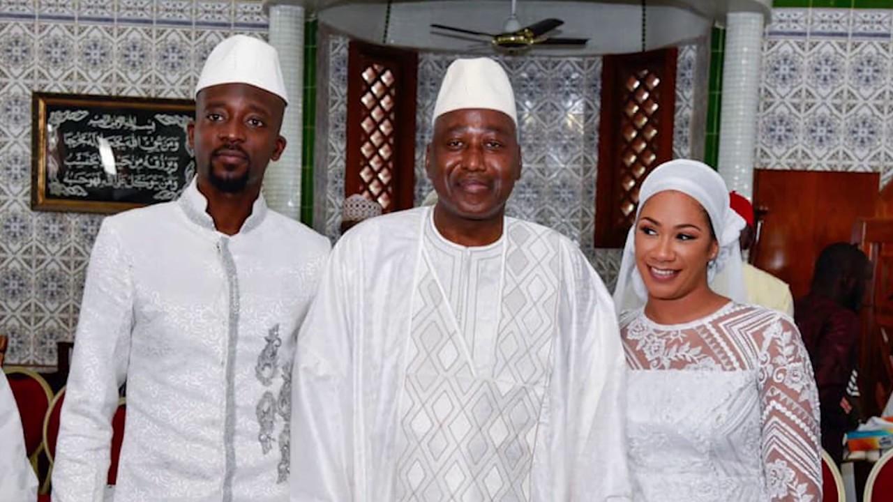 NTV Scoop: Ahmed sylla l'ex de Emma lohoues  vient d'épouser l'ivoiro-belge Karidja Coulibaly
