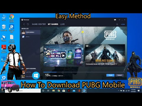 How To Download PUBG Mobile On PC For Free || Easy Way || 2020 ||