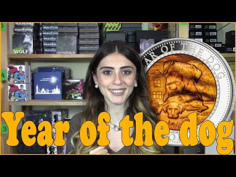 🐕 YEAR OF THE DOG 🐕 REVIEW - Mother of Pearl - 5 Oz Silver Coin - Solomon Islands 2018