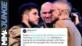 Daily Debate: Should T.J. Dillashaw get an immediate rematch with Henry Cejudo?