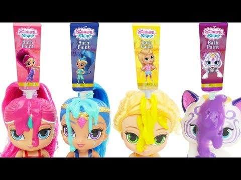 LOL Surprise Dolls Shimmer and Shine Magic Color Changing Routine with Charm Fizz Fizzy Bomb Balls!