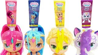 shimmer and shine bath toys