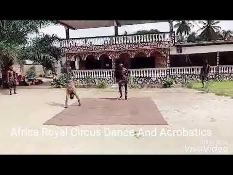 Africa Circus Dance And Acrobatics