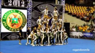 FEU Cheering Squad - 1st Runner Up - NCC 2012.flv