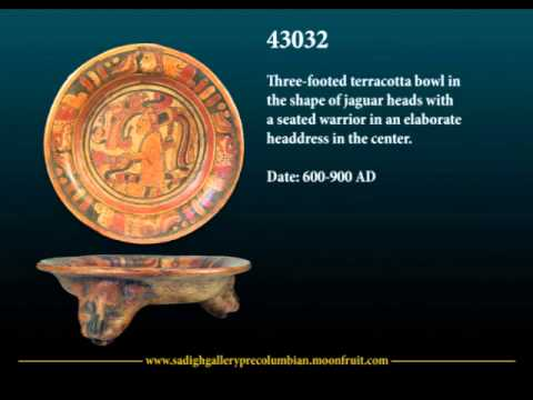 Sadigh Gallery Pre-Columbian Artifacts Collection: Mayan Artifacts