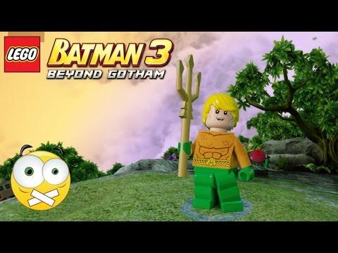 how to get aquaman in lego batman 3