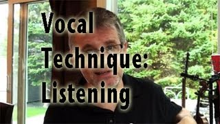Vocal Lesson Improve Pitch Tone Phrasing by Listening to Yourself