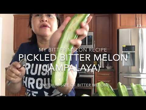 Pickled Bitter Melon