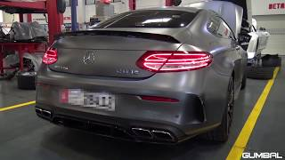 780HP Mercedes-AMG C63 S Coupe PP-Performance Stage 2 - SOUND!