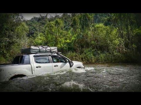 Ford Ranger T6 ย้อนรอยคลอง 2 แม่น้ำน้อย ไทรโยค จ.กาญจนบุรี