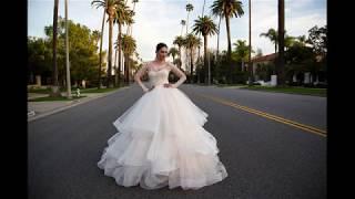 Пышные свадебные платья 2018 года