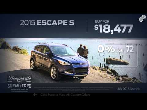 Bommarito Ford July Offers SPL