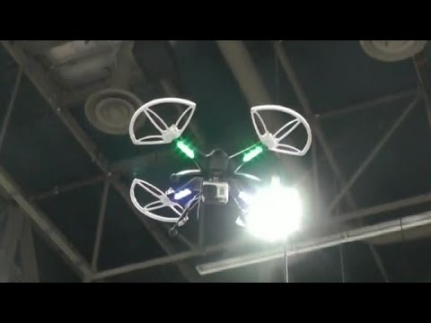 Peeping drones spying on households