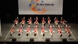 2017-2018 Üniversiteler Arası Halk Dansları Türkiye 1.si Mehmet Akif Ersoy Üniversitesi