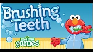 Elmo Toddler  Brushing Teeth