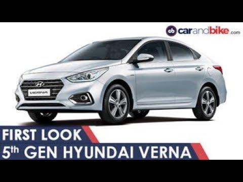 New 5th Gen Hyundai Verna First Look | NDTV CarAndBike