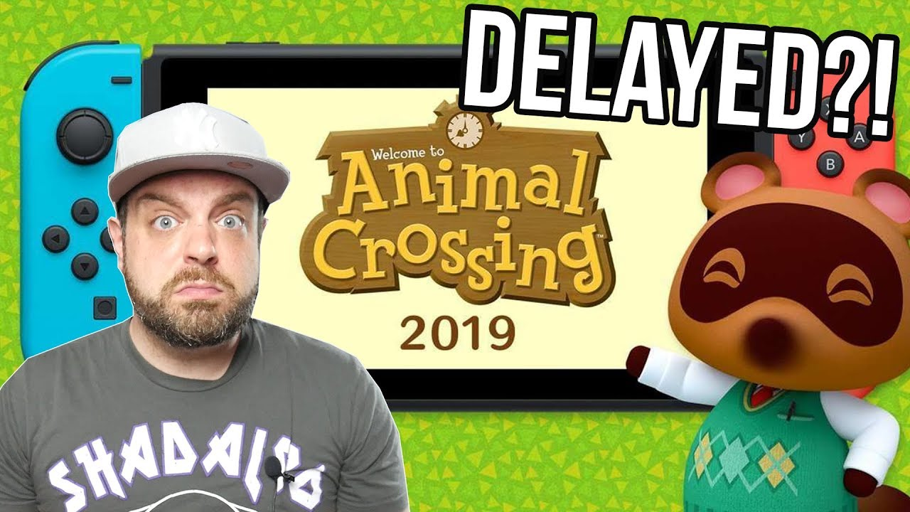 Animal Crossing for Switch gets delayed
