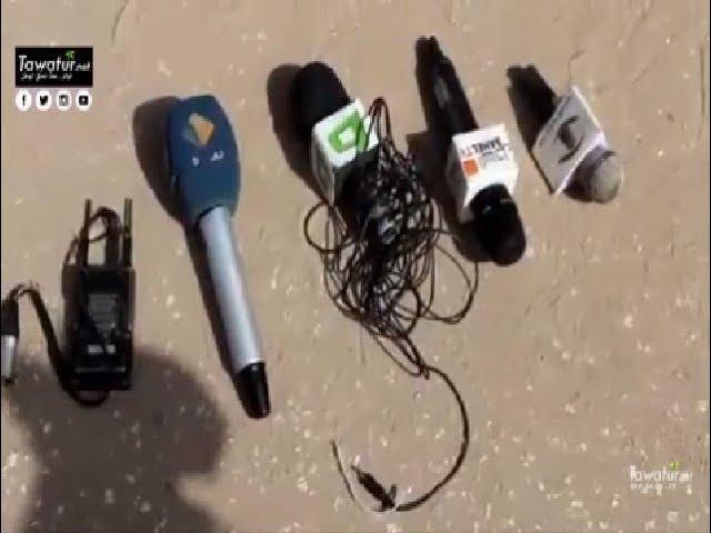 الصحفيون العاملون في القنوات الخاصة ينظمون وقفة احتجاجية أمام وزارة الإتصال - قناة الوطنية