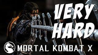 Mortal Kombat X - Takeda (Shirai Ryu) - Klassic Tower on Very Hard - NO MATCHES/ROUNDS LOST!