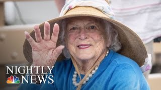 Barbara Bush Remembered By Family And Former Aides | NBC Nightly News