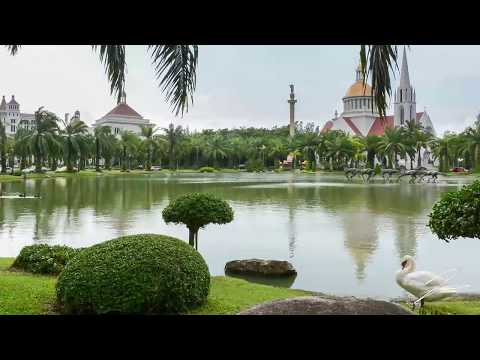 ABAC Campus Tour - Assumption University of Thailand Tour - Timelapse