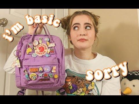 What's In My Fjallraven Kanken Backpack