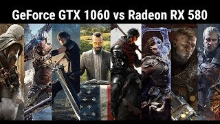 Сравнение GeForce GTX 1060 6GB и Radeon RX 580 8GB в 27 играх Full HD (1920x1080)