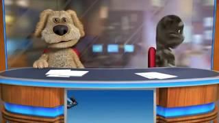 Talking Tom & Ben News fight