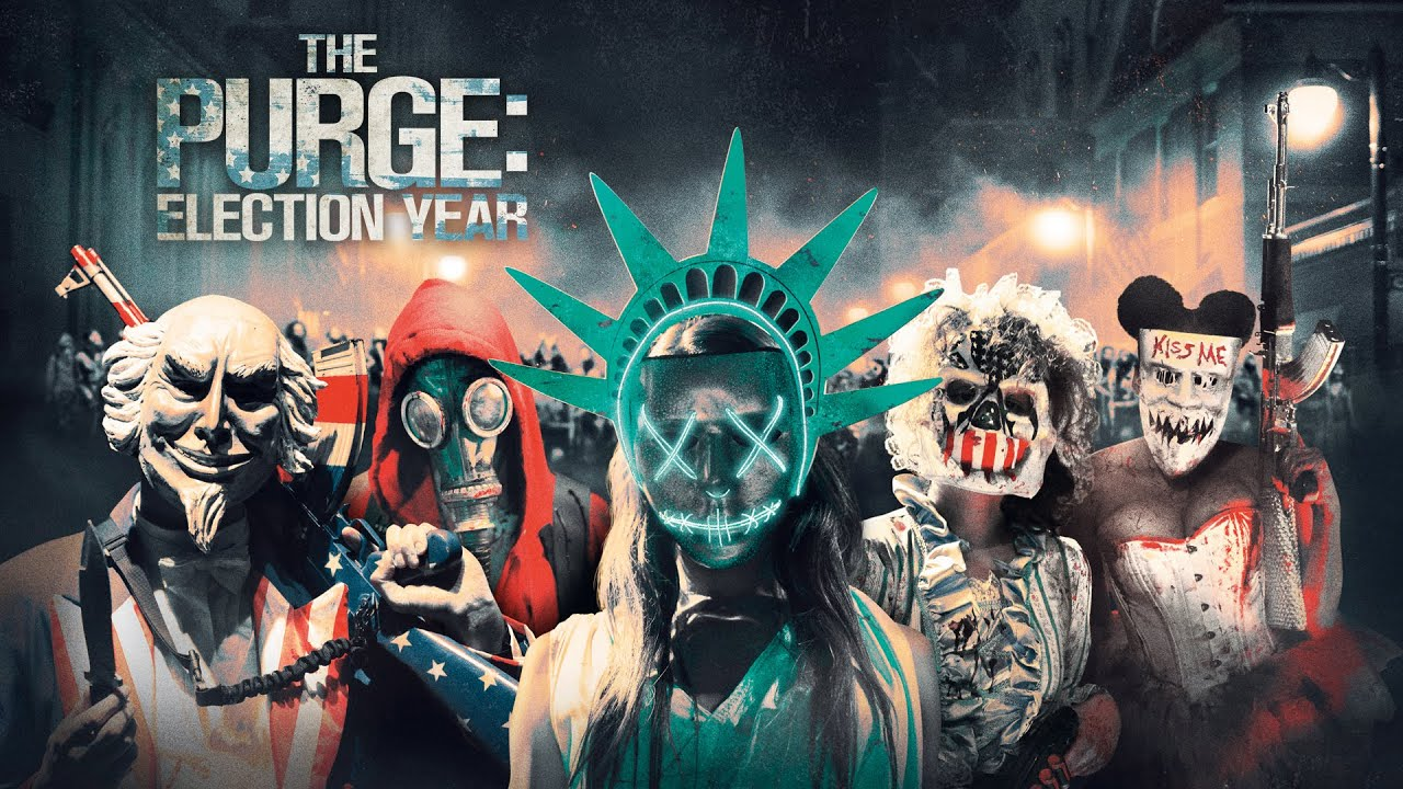 The Purge Election Year Poster Wallpapers