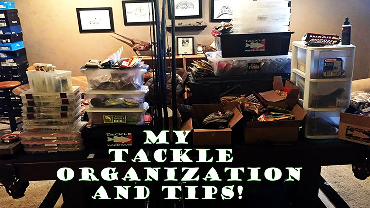 My tackle organization and tips youtube for Fishing tackle organization