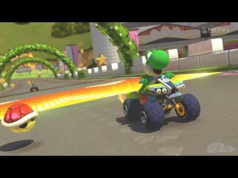 Wii U - Mario Kart 8 - (N64) Pista Real