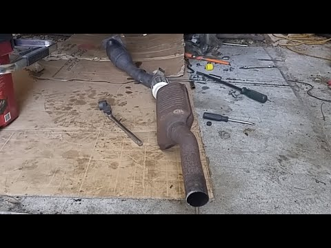 Audi C5 Allroad (Manual Transmission) and B5 S4 Downpipe Removal
