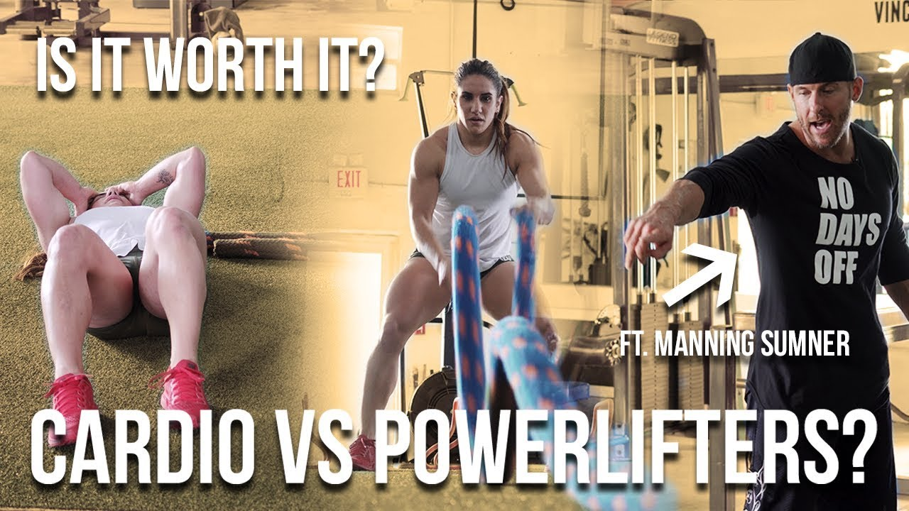 Should Powerlifters Do Cardio? Is It Worth It? | Ft Manning Sumner
