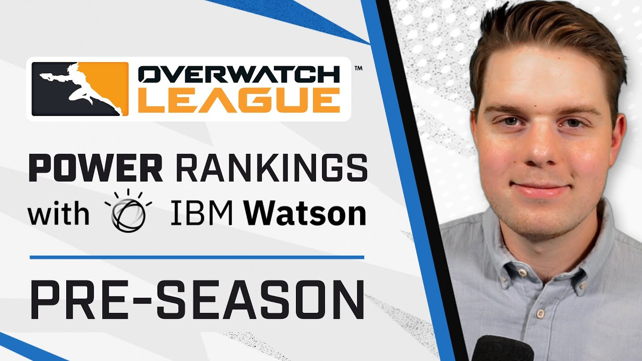 Who is Going Into the Season on Top?!   Power Rankings with IBM Watson   Pre-Season