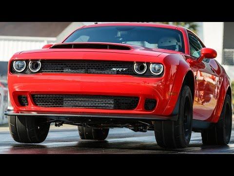 2018 Dodge Challenger SRT Demon (840-HP) Specs, Design, Driving