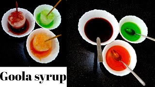 Barf Ka Gola Syrup Recipe / summer special gola syrup#golasyrup#summerdrink
