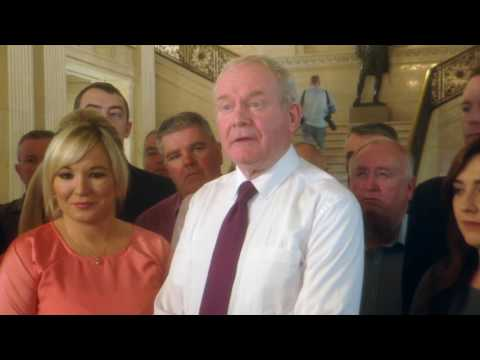 McGuinness names ministers at Stormont