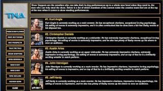 """Total Extreme Wrestling 2013 TNA Episode 1 """"Introduction"""""""