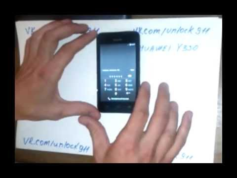 Huawei Y330 U11 Разблокировка - Rupowerbalance