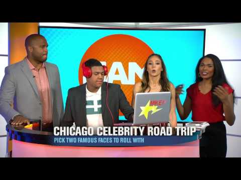 Chicago Celebrity Road Trip: Who Would You Pick?