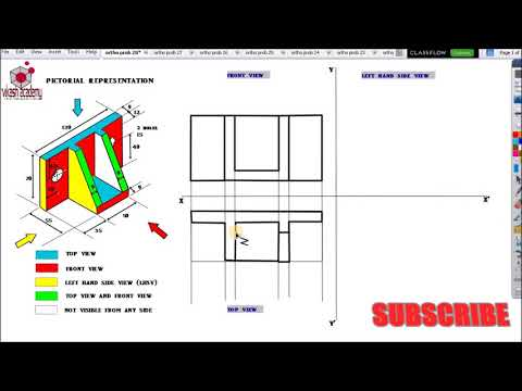Orthographic projection problem -15