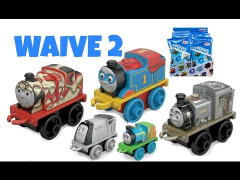 WAIVE 2 THOMAS & FRIENDS MINIS COMPLETE SET
